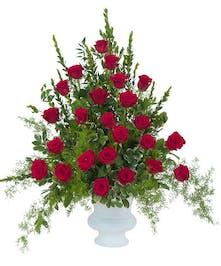 Royal Rose Urn