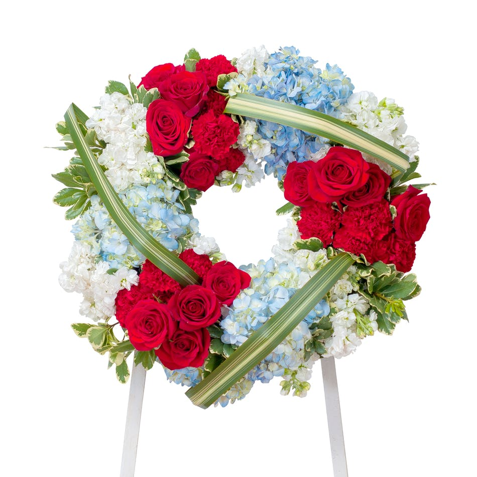 Honor wreath mobile florist flowers mobile al the rose bud delivery conditions reward points izmirmasajfo