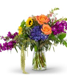 Naturally Prismatic Vase